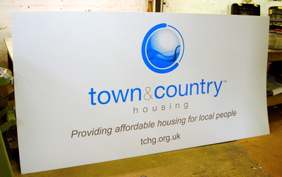 8ft x 4ft site board