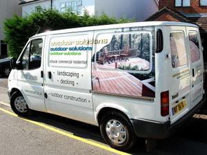 Van Graphics with digital print