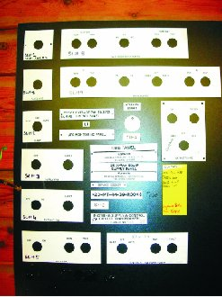 Various traffolyte labels